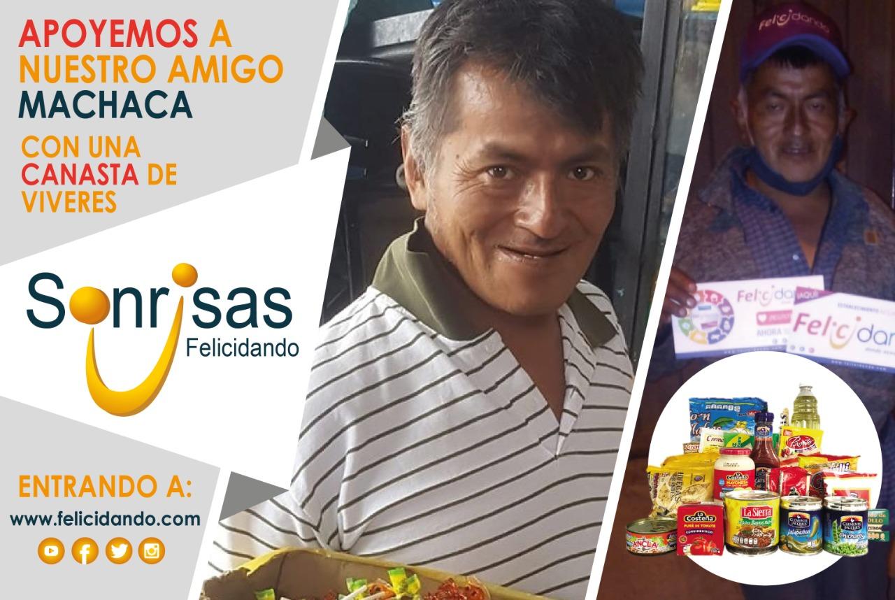CANASTAS PARA NUESTRO AMIGO MACHACA