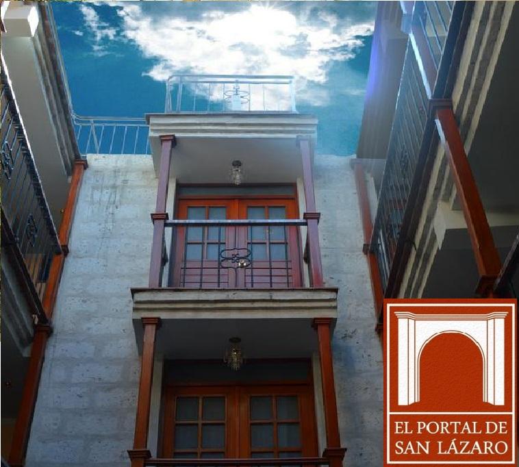 Arequipa - Hotel El Portal de San Lazaro