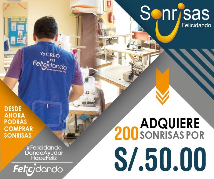 200 SONRISAS / PUNTOS