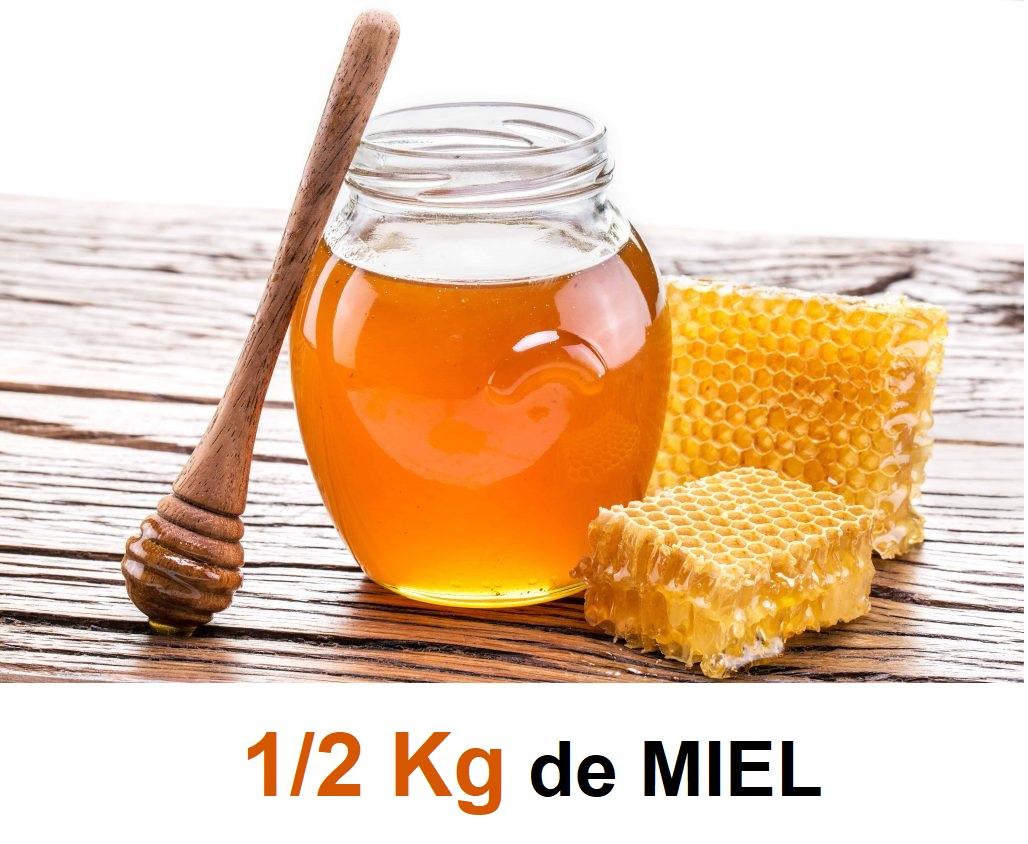 1/2 KG DE MIEL NATURAL