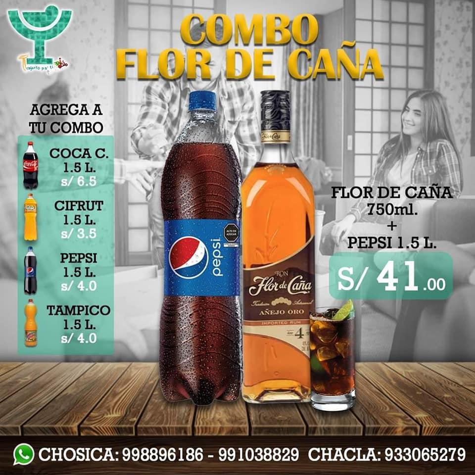 COMBO FLOR DE CAÑA AÑEJO
