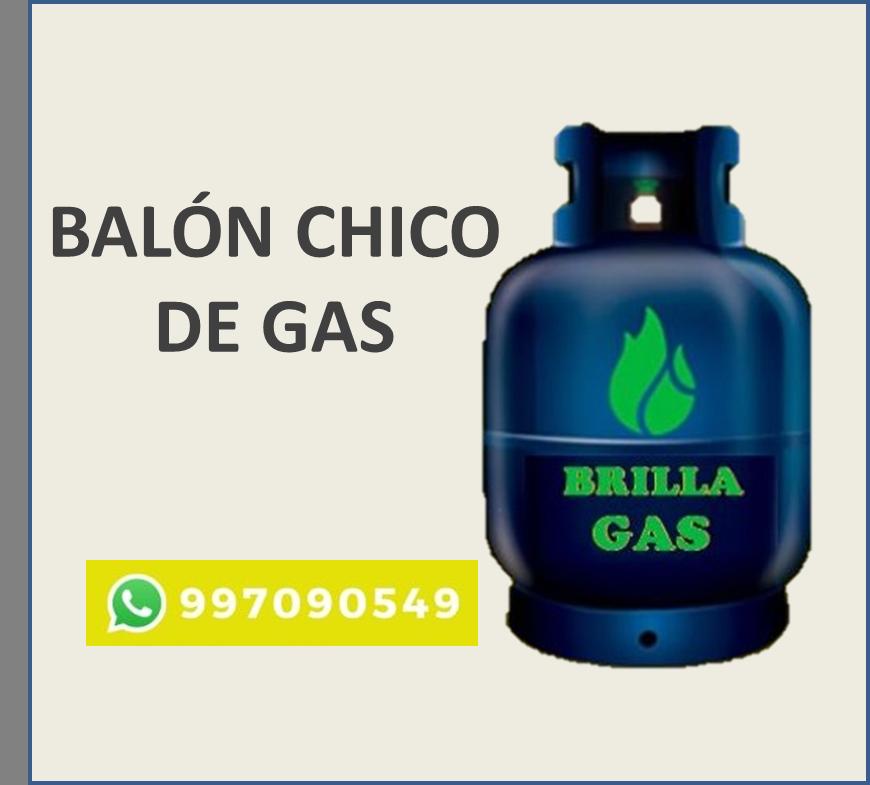 BALÓN DE GAS PEQUEÑO (5 LITROS)